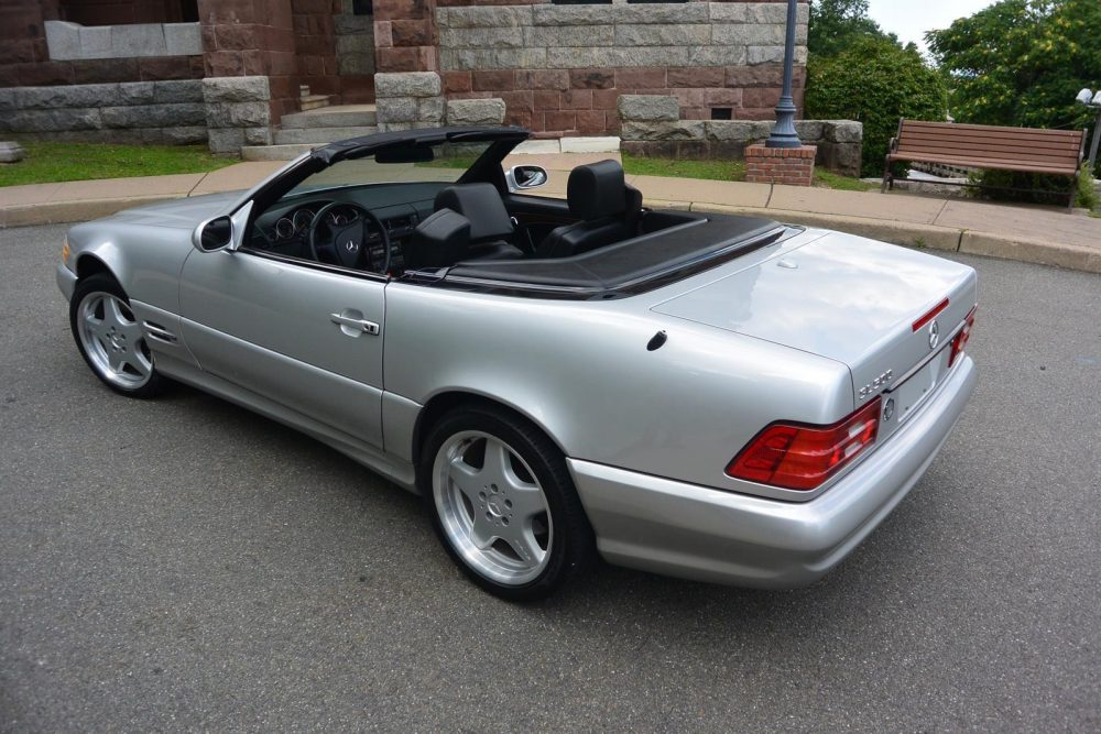 View 2000 Mercedes Benz Sl500