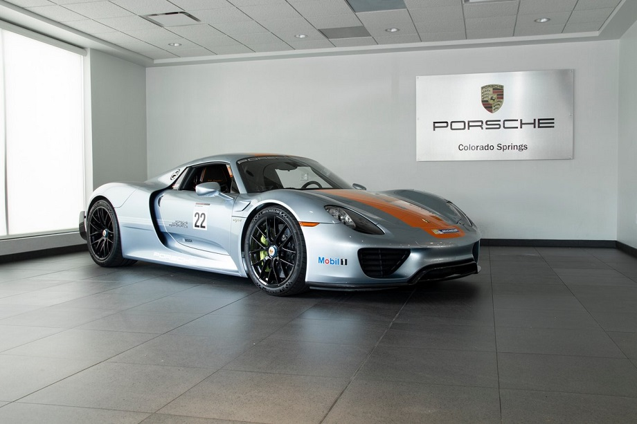 2015 Porsche 918 Spyder Weissach Package \u2013 German Cars For