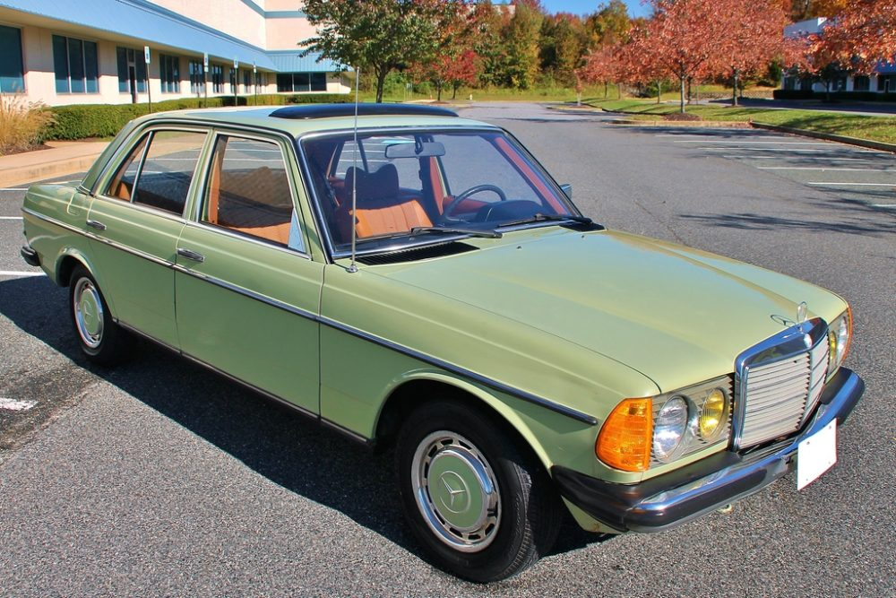 1979 Mercedes Benz 300d German Cars For Sale Blog