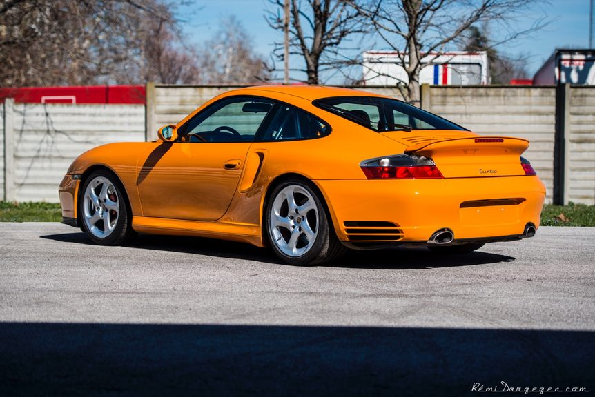 gelb orange 2001 porsche 911 turbo coupe german cars for sale blog. Black Bedroom Furniture Sets. Home Design Ideas