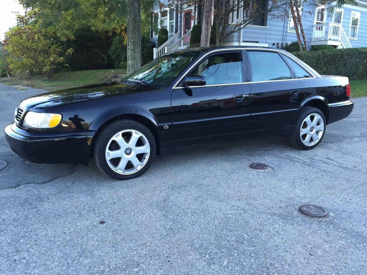 Black or White Double Take: 1995 Audi S6 | German Cars For ...
