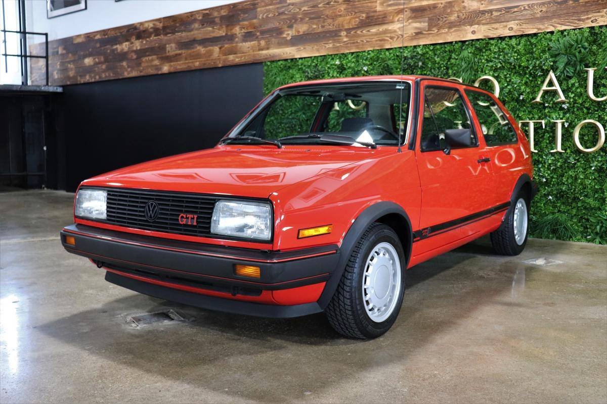 1985 Volkswagen Gti With 34 500 Miles German Cars For