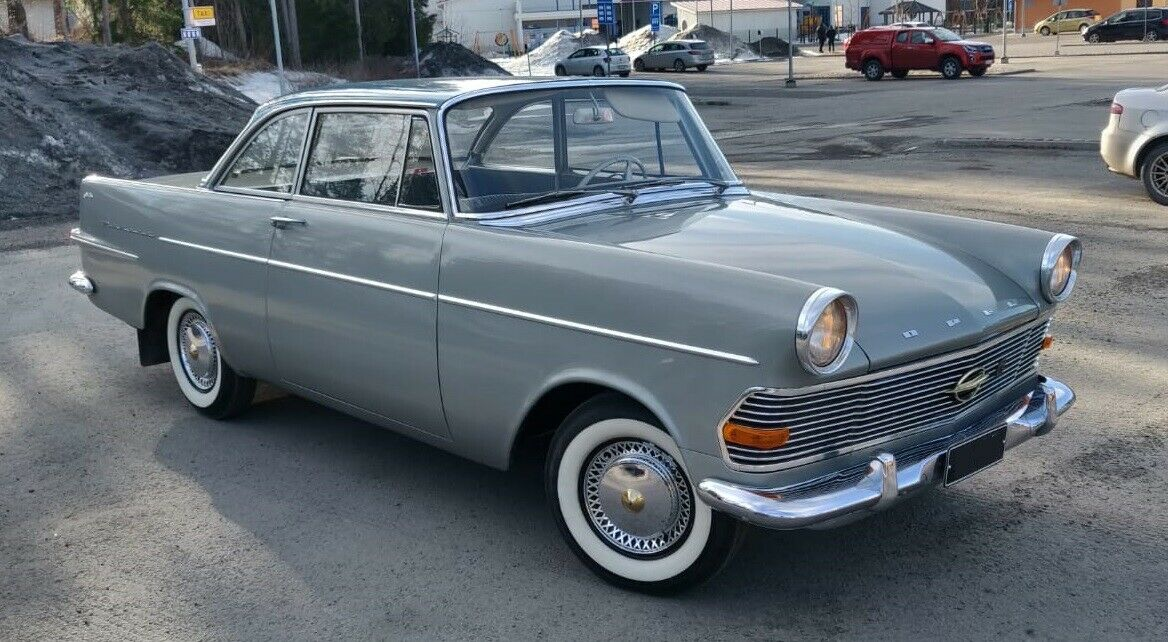 1962 Opel Rekord P2 Coupe German Cars For Sale Blog