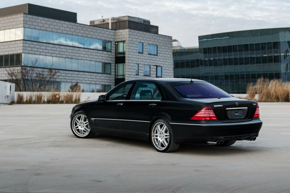 2004 Mercedes-Benz S600 Brabus T12 - German Cars For Sale Blog