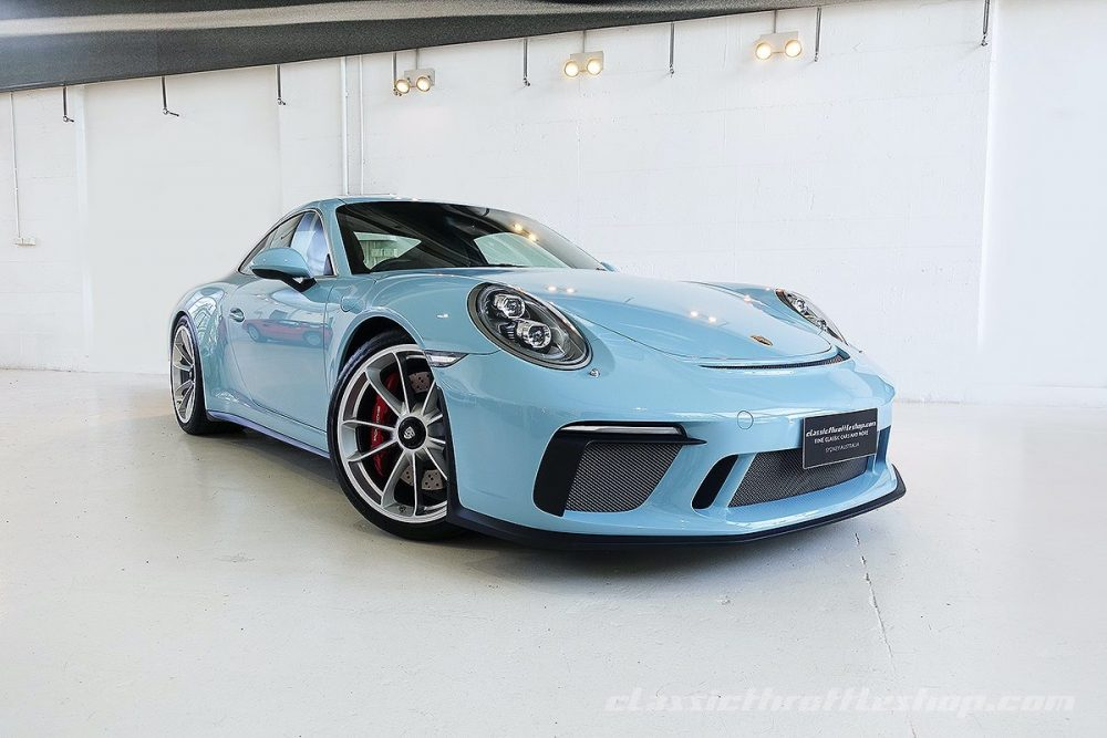 2019 Porsche 911 Gt3 Touring German Cars For Sale Blog